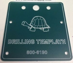 CIRCUITRON 6190 TORTOISE Drill Template Switch Machines MODELRRSUPPLY   $5 Offer