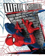 Spiderman Marvel Spider-Man Fleecedecke Kuscheldecke Kinderdecke 120 x 150 cm