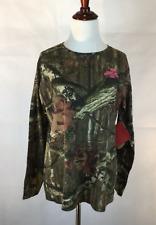Mossy Oak Shirt Womens Medium Camo NWT Breakup Infinity Long Sleeves Hunting New