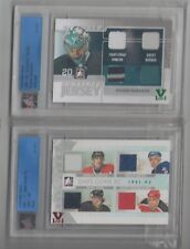 Nabokov ITG Ultimate Vault 1/1 on UM9 Complete Jersey Emerald Logo