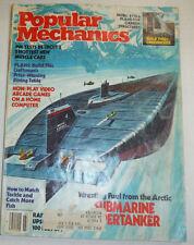 Popular Mechanics Magazine Detroit 5 Hottest New Muscle Cars March 1982 020615R