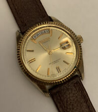 VINTAGE RICOH OYSTER DAY DATE AUTOMATIC GWO WATCH