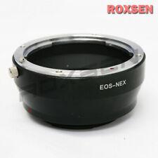Canon EOS EF EF-S lens to Sony NEX E mount adapter A6600 A7 III A7R IV A9 II A7S
