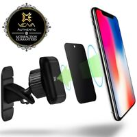 [4 Strong Magnets] Dashboard Magnetic Car Mount Phone Holder for iPhone Samsung