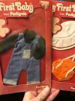 VINTAGE My First Baby Pedigree Doll Clothes
