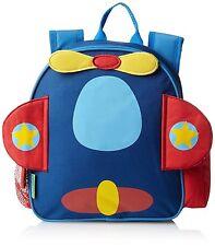 Stephen Joseph Little Boys' Mini Sidekick Airplane Backpack - Age 3 & Up