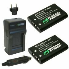 Wasabi Power Battery (2-Pack) and Charger for Nikon EN-EL11