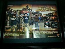 Mikel Knight Duke Boyz Jellyroll Rare Original Promo Poster Ad Framed!