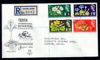GB 1964 Botanical Congress Registered Illustrated CDS FDC WS17187