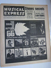 NME 9/23/66 Rolling Stones  Small Faces  Dave Berry  Supremes