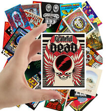 """Stickers pack [24 stkrs 2.5""""x3.5"""" Greatful Dead Rock Music Posters Adverts 5050"""
