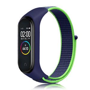 For Xiaomi Mi Band 3 4 5 6 Silicon+Nylon Replace Wrist Band Watch Strap Bracelet