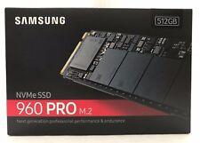 NEW Samsung 960 Pro M.2 NVMe Internal SSD 512gb MZ-V6P512BW