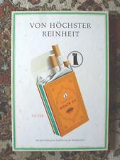 Pappschild Aufsteller Reklame Ernte 23 Zigaretten vintage 1960er Reemtsma