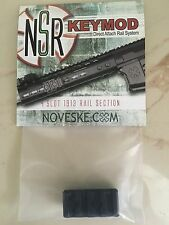 "Noveske 6000031 KeyMod 4 Slot 1913 Section 2.3125"" Overall Black"