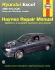 Hyundai Excel 1986-2000 Haynes Workshop Repair Manual with MPN HA43725