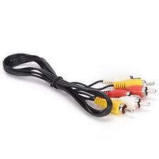 3 RCA macho a 3 RCA macho compuesto audio video AV cable enchufe UPSP