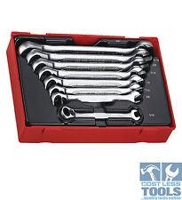 Teng Tools 8 pce AF Ratchet Combination Spanner Set TT6508RAF