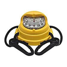 Suunto Yellow Orca Kayak Compass - Easily Mounts To Most Kayak Decks