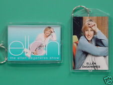 ELLEN DEGENERES - with 2 Photos - Designer Collectible GIFT Keychain