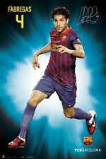 Cesc Fabregas FC Barcelona poster La Liga Spain new FC Barca Soccer Football