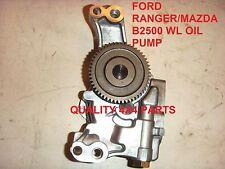 Ford Ranger Wl Mazda B2500 2.5 Td Albero Motore Pompa Dell'olio Nuovo