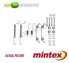 MINTEX REAR BRAKE SHOES SET FITTING KIT PIN SPRINGS GENUINE QUALITY - MBA766