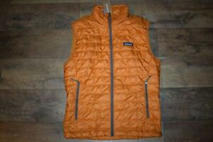 Patagonia Men's Nano Puff Vest 84242 Size Small (Hammonds Gold) NWT