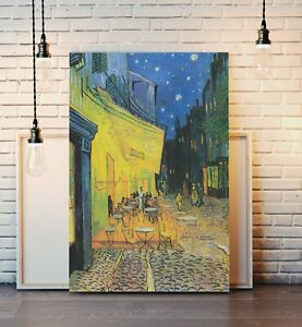 Van Gogh Café Terrace at Night CANVAS WALL ART PAINTING PRINT ARTWORK CLASSIC