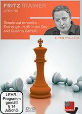 ChessBase-Williams Exchange on d5 in the Slav and Queen's Gambit-Donna Gambit