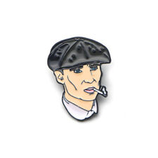 Peaky Blinders Thomas Shelby Tv Enamel Denim Jacket Clothing Brooch Pin Gift Bag