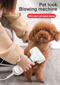 2 in1 Portable Pet Hair Dryer Dog Slicker Brush Grooming Hair Dryer Blower Comb~