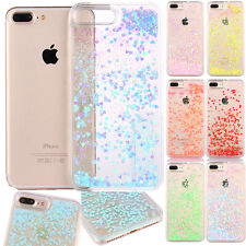 Heart Glitter Bling Liquid Novelty Colourful Phone Case For iPhone 6s 5 6s plus