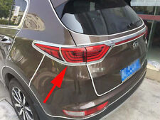 ABS Chrome Rear Tail Light Lamp Light Cover For KIA Sportage 2016 2017 SUV New