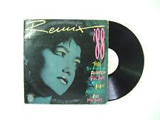 Remix' 88  - Disco Vinile 33 Giri LP Compilation Stampa ITALIA 1988 EuroHouse