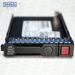 "HPE 480GB SATA 6G MIXED USE SFF 2.5"" SC SSD 99.9% HEALTH 816985-B21 EX VAT £"