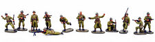 WWII French army 12 figures caesar 1/72 FloZ painted soldier miniature set A