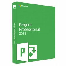 Project 2019 Professional FOR 1 PC GENUINE License Fast Delivery
