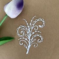flower Design Metal Cutting Die For DIY Scrapbooking Album Paper Cards ^SP