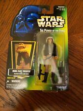 Star Wars The Power of the Force Rebel Fleet Trooper Action Figure MOC