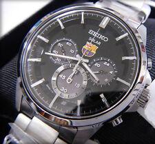 Seiko FCB Barcelona Solar Chronograph Men's Watch SBPY047J1
