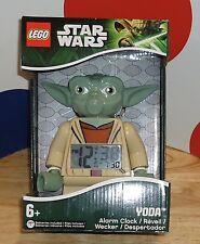 STAR WARS LEGO Yoda Alarm Clock NEW MIN FIG/MINIFIG/MINI FIGURE Ages 6+