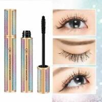 4D Silk Fiber Eyelashes Lash Mascara Waterproof Long Lasting Extension Make Up