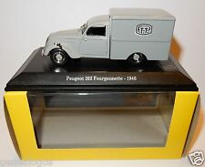 NOREV PEUGEOT 202 FOURGONNETTE 1946 POSTES POSTE PTT 1/43 in luxe BOX