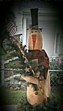 Snowman Bob - Primitive snowman Pattern Only