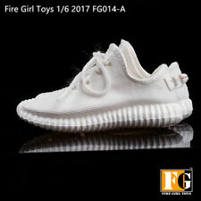 Fire Girl Toys 1/6 Female White Sport Shoes Sneakers Leisure Working FG014