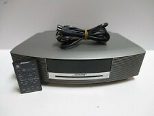 Bose Wave Music System Radio/Cd silver w/ remote test working condition