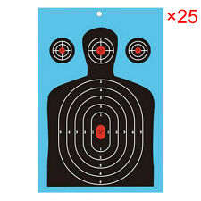25x Splatter Shooting Targets Paper Spot Vegas Bow Archery Accessory Hot Sale