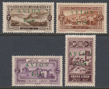 Libanon Lebanon 1925 ** Mi.71/74 Freimarken Definitives with overprint AVION