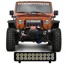 10W CREE Straight Combo Beam Dual Row Led 4x4 offroad light bar 24Leds x1pc